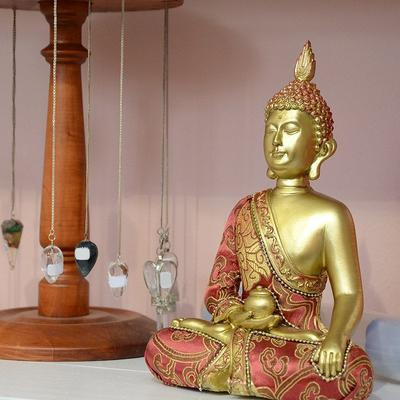 Goldener Buddha