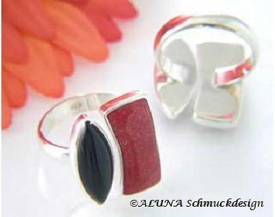 Ring-mit-Onyx-und-Schaumkoralle-Wurzelkoralle